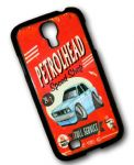 KOOLART PETROLHEAD SPEED SHOP Design For Retro Mk2 Ford Cortina Tina Hard Case Cover Samsung Galaxy S4